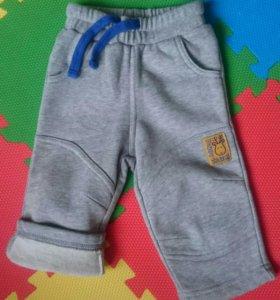 Новые штанишки SELA baby 3-6 месяцев утепленные