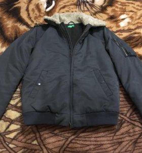 Новая куртка Бенетон
