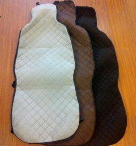 Накидки чехлы из алькантары на сиденье автомобиля