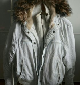 Куртка с меховой подкладкой Amisu