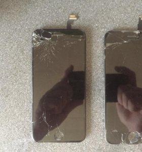 Битые рабочие экраны (оригинал) для iPhone 6