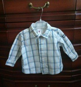 Рубашка для мальчика р-р68