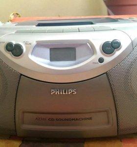 Магнитола Филипс AZ101 CD SOUNDMACHINE