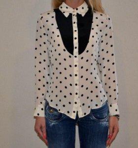 Рубашка блузка шифон