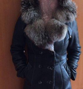 Дубленка зимняя