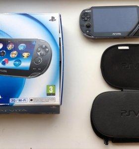 Sony PS Vita 3G/Wi-Fi +20игр
