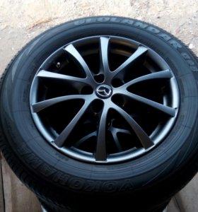 Литые диски на Mazda СХ5