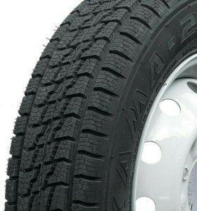 Продаю шины на штамповках 4шт Кама-232 185/75 r16