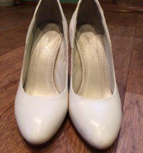 Туфли свадебные, 36 размер