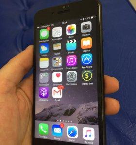 iPhone 7 32гб чёрный матовый!