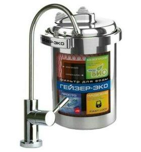 Установка фильтров для очистки воды в квартире.