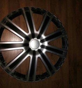 Комплект дисков на Ситроен С4 R16 + колпаки