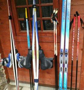 Лыжи полный комплект