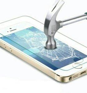 Стекло iphone 5, 5c,5s