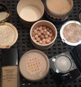 Косметика лимитки Chanel, Guerlain, Armani, Sisley