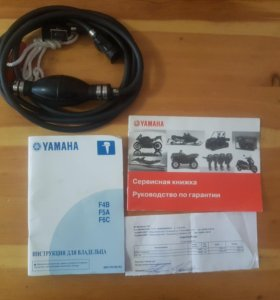 Yamaha F5A + бензобак 12 литров