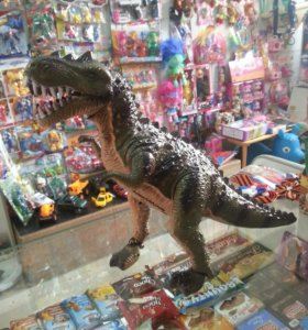 Тиранозавр на батарейках