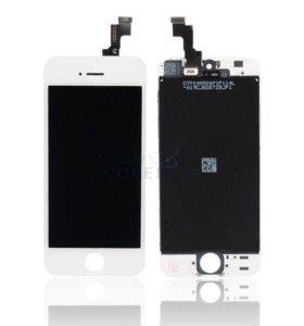 iPhone 5/5s дисплей + тачскрин AAA/original белый