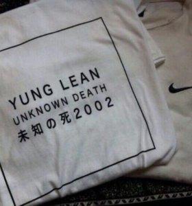 Футболка YUNG LEAN