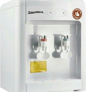 Кулер для воды с нагревом Aqua Work 36 TKN