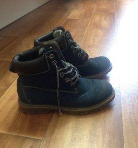 Женские ботинки очень -зима