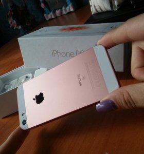 iPhone SE, rose gold, на 64гб