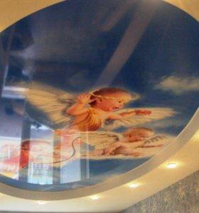 Ангелочки 👼 натяжные потолки