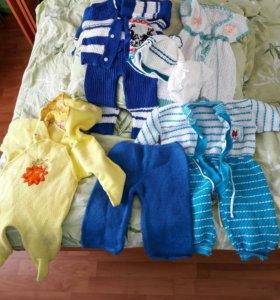 Детские вещи (теплые) даром