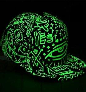 Рэперка светящаяся(зеленый)