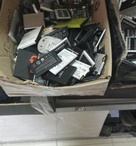 Батареи к телефонам б/у 150 руб