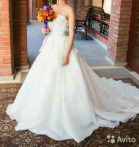 Wera Wang White свадебное платье