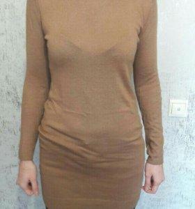 Свитер-туника-платье