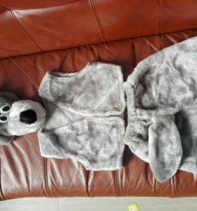 костюм волка новогодний для утренника