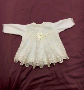 Детское новое платье