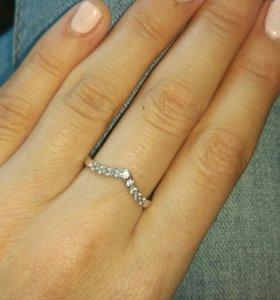 Новое кольцо вставки цирконы 💎