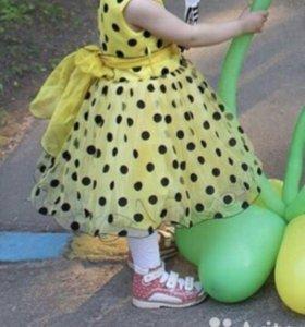 Очень красивое пышное платье