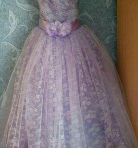 Платье для принцессы(6-7 лет)
