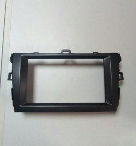 Переходная рамка под 2DIN на Toyota Corolla 150