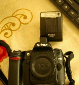 Nikon d80+ Nikon SB30