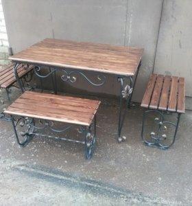 Комплект мебели для отдыха у костра
