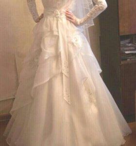 Свадебное платье, в отличном сотоянии.