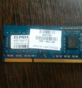 Оперативная память 4 gb DDR 3