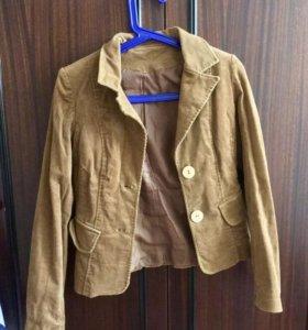 Вельветовый пиджак 40-42 р