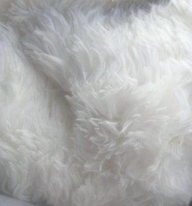 📌евро покрывало плед травка белый