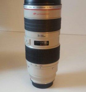 Объектив Canon Zoom Lens EF 70-200 mm L F2.8 USM