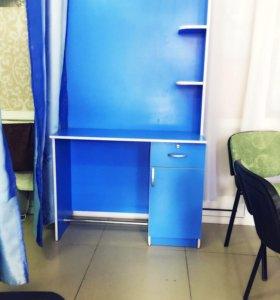 Парикмахерские столики 2 шт, без зеркал