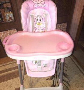 """Детский стульчик Jetem """"Piero De Lux"""" Pink"""