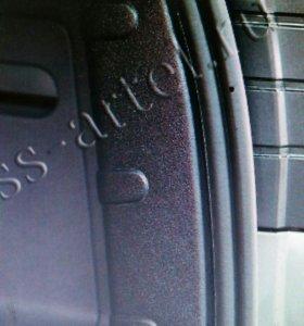 Накладки багажника ниссан Террано/Дастер