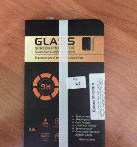 Защитное стекло для айфона 6, 6s