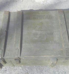 Ящик из-под боеприсов СССР
